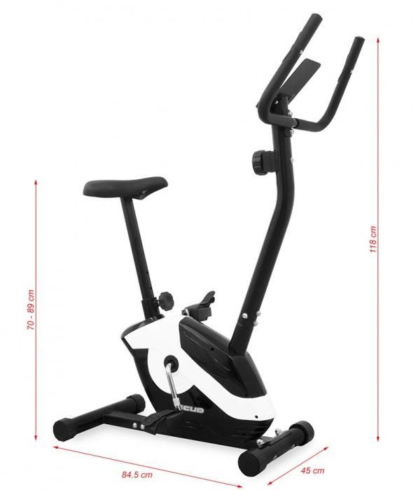 Bicicleta Magnetica SCUD Move - Negru [11]