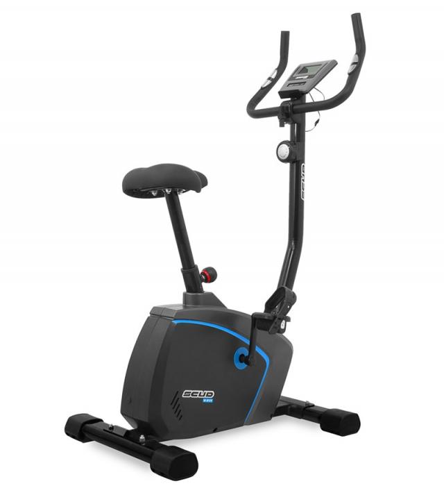 Bicicleta magnetica Scud V-Fit- negru/albastru [1]