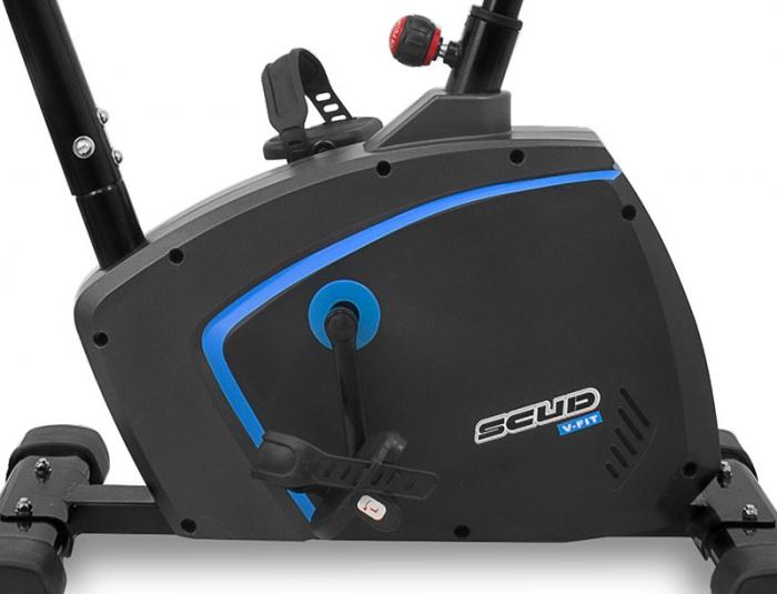 Bicicleta magnetica Scud V-Fit- negru/albastru [7]