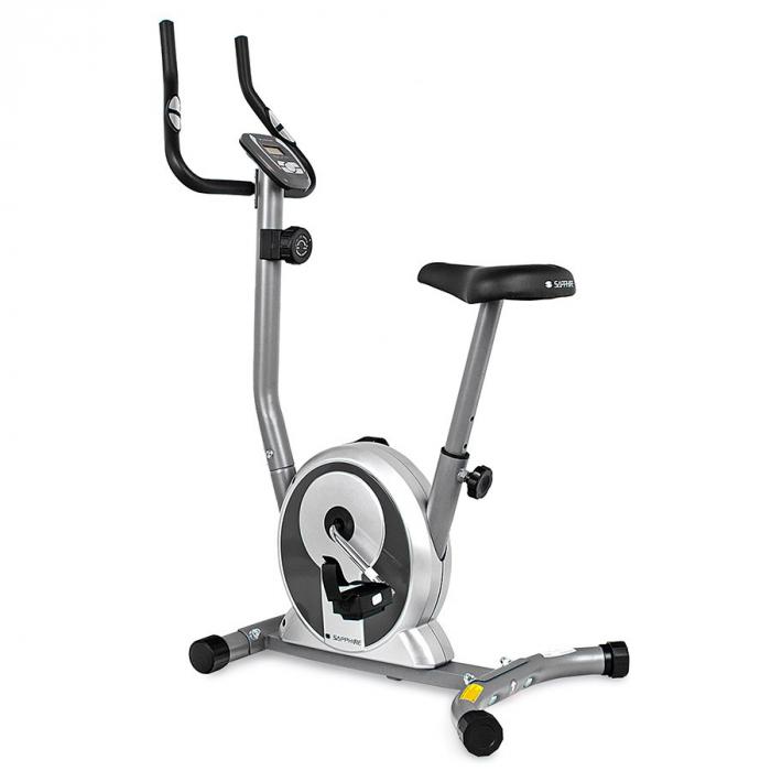 Bicicleta magnetica SMART - argintiu/grafit [0]