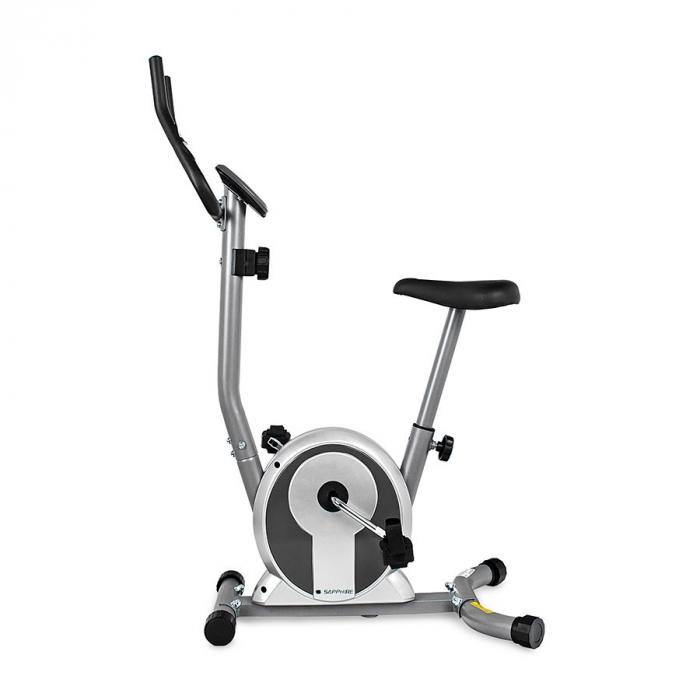 Bicicleta magnetica SMART - argintiu/grafit [1]