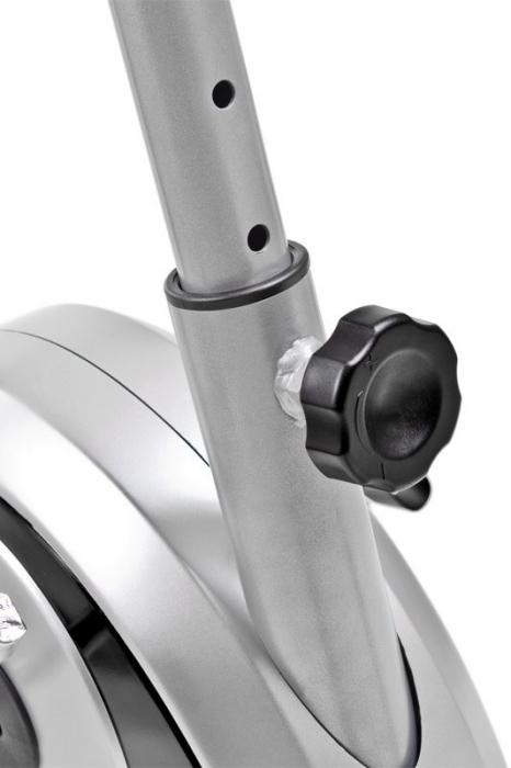 Bicicleta magnetica SMART - gri/negru [5]