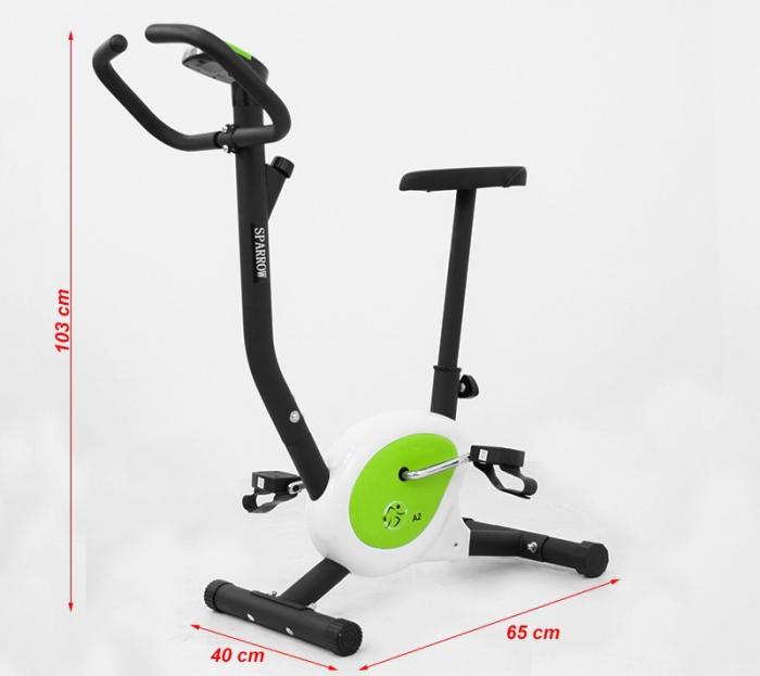 Bicicleta mecanica Hiton A2 Sparrow-verde [1]