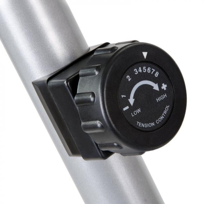 Bicicleta mecanica SMART - gri/rosu [5]