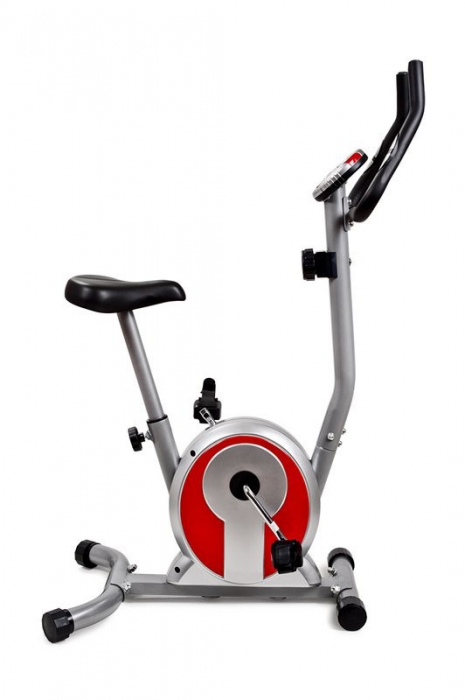 Bicicleta mecanica SMART - gri/rosu [1]