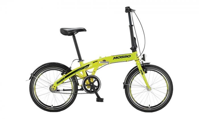 """Bicicleta Mosso Marine SR2 12 pliabila cadru aluminiu roata 20"""" culoare lime cu schimbator in butuc [0]"""
