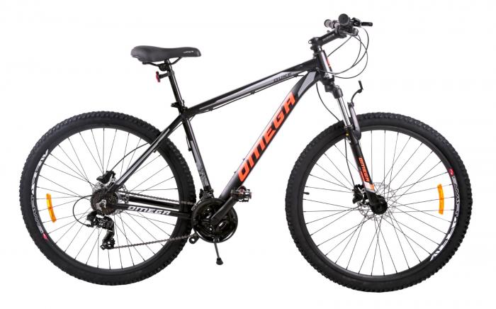 "Bicicleta mountainbike Omega Duke 27.5"" negru/rosu/albastru [1]"