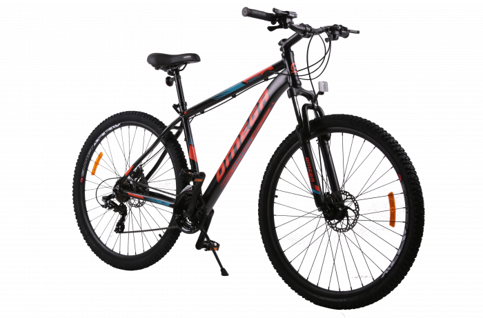 "Bicicleta mountainbike Omega Thomas 29"" negru/albastru/portocaliu [0]"