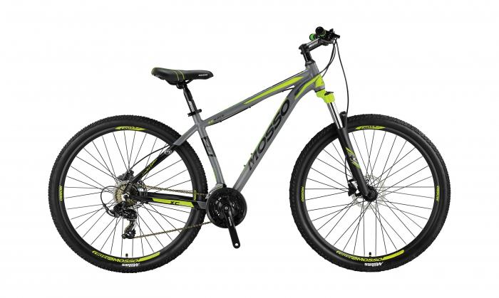 "Bicicleta MTB Mosso Wilffire LDT Hidraulic, Roata 29"" Altus, Cadru 18"" culoare gri/lime [0]"