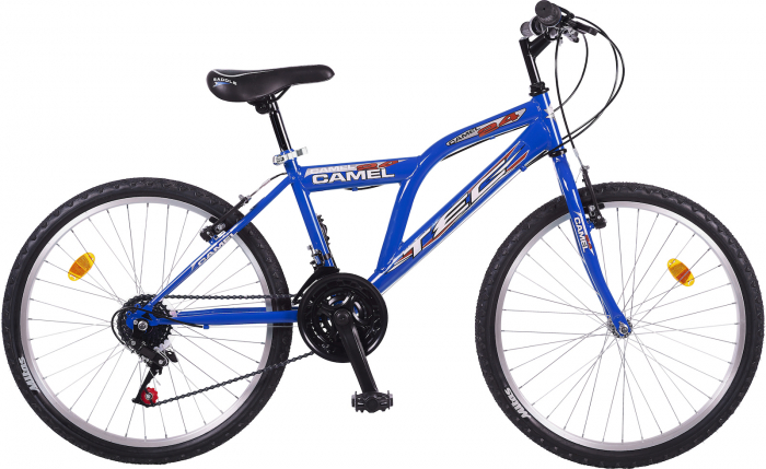 "Bicicleta MTB TEC Camel Chanel Kadro,Culoare rosu , Roata 24"" Otel [0]"