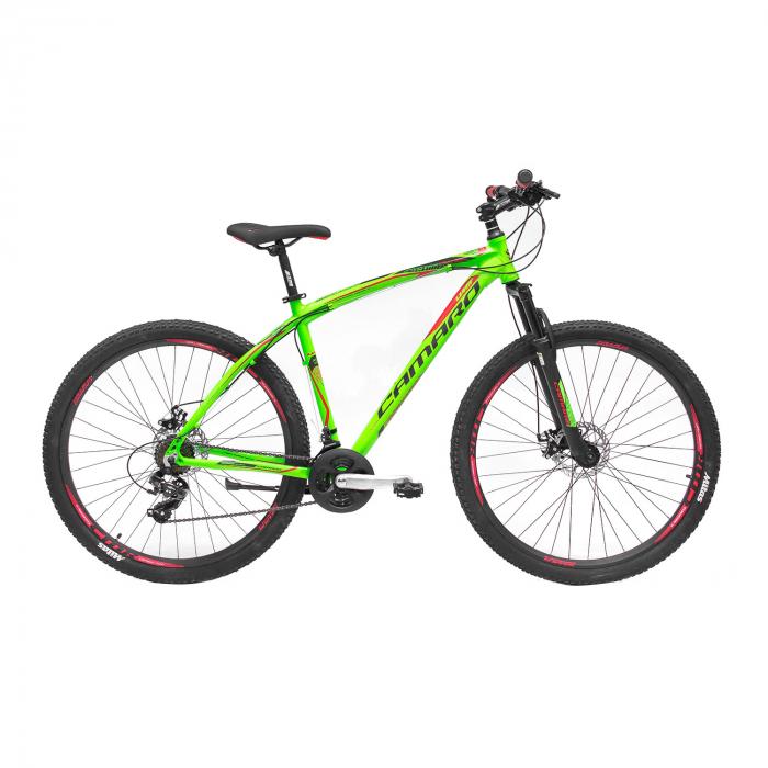 """Bicicleta MTB Umit Camaro 2D, Roata 27.5"""" , Aluminiu, Cadru 16"""" , Culoare Verde [0]"""