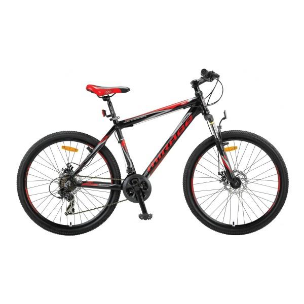 """Bicicleta MTB Umit Mirage Cadru 20"""" , 21 Viteze , Culoare Negru/Rosu Roata 26"""" [0]"""