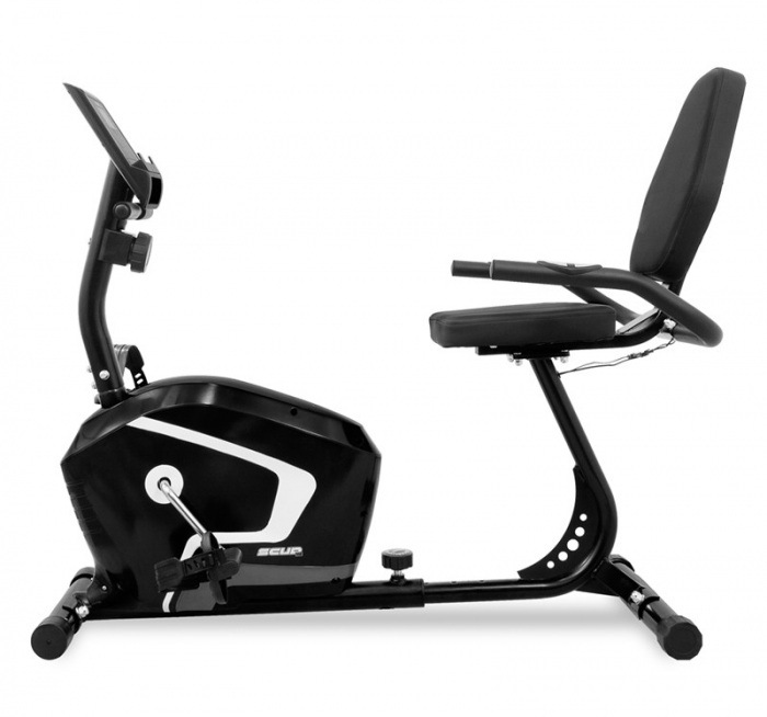 Bicicleta Recumbent SCUD H8 - Negru [0]