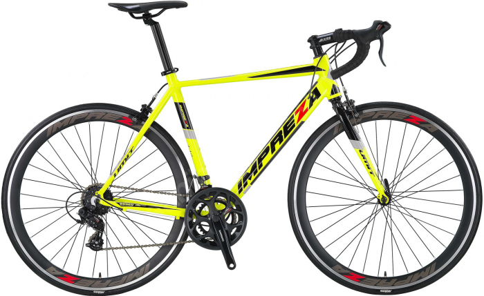 Bicicleta Umit Cursiera Impreza-Tourney- Roata 700C , 14 Viteze , Cadru 540mm Aluminiu, Culoare verde [0]