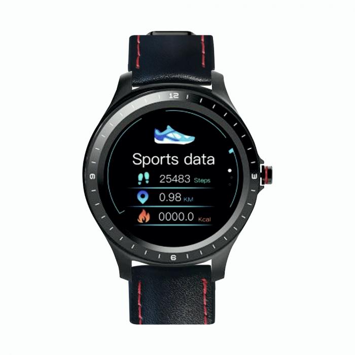 Ceas smartwatch BlitzWolf BW-HL2, Negru, Pedometru, Distanta, Calorii arse, 6 Moduri sportive, Sedentarism [4]