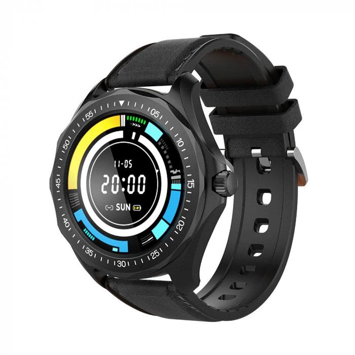 Ceas smartwatch BlitzWolf BW-HL3, Negru, Pedometru, Distanta parcursa, Calorii arse, Monitorizare ritm cardiac [0]
