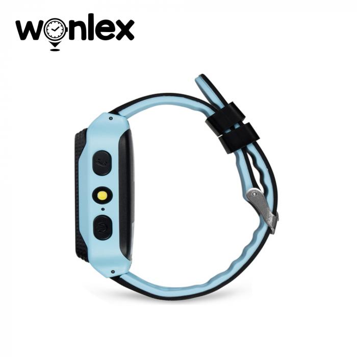 Ceas Smartwatch Pentru Copii Wonlex GW500s cu Functie Telefon, Localizare GPS, Camera, Lanterna, Pedometru, SOS ; Albastru, Cartela SIM Cadou [1]