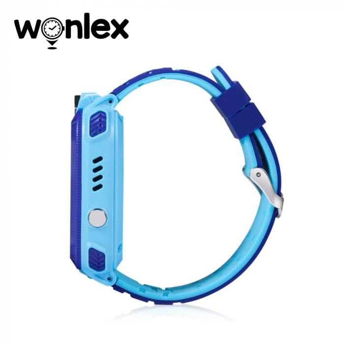 Ceas Smartwatch Pentru Copii Wonlex GW600S cu Functie Telefon, Localizare GPS, Monitorizare somn, Camera, Pedometru, SOS, IP54 ; Albastru, Cartela SIM Cadou [3]