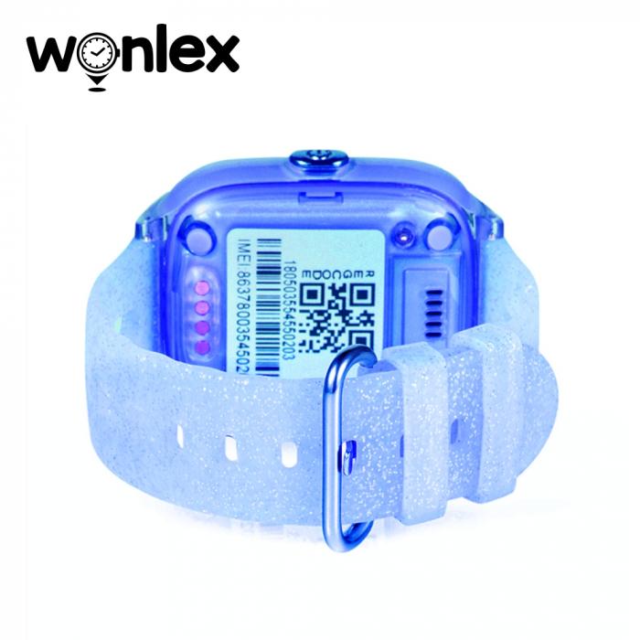 Ceas Smartwatch Pentru Copii Wonlex KT01 cu Functie Telefon, Localizare GPS, Camera, Pedometru, SOS, IP54 ; Albastru, Cartela SIM Cadou [3]