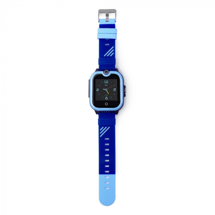 Ceas Smartwatch Pentru Copii, Wonlex KT13, Albastru, SIM card, 4G, Rezistent la stropi IP54, Apel video [4]