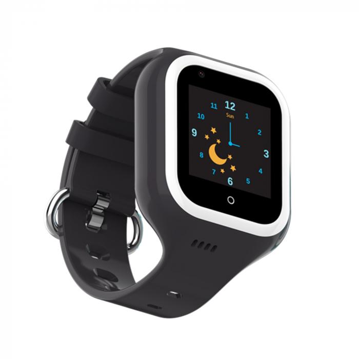 Ceas Smartwatch Pentru Copii, Wonlex KT21, Negru, SIM card, 4G, Rezistent la apa IP54, Apel video [3]
