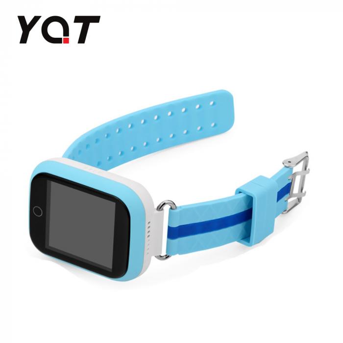 Ceas Smartwatch Pentru Copii YQT Q750 cu Functie Telefon, Localizare GPS, Apel de Monitorizare, Pedometru, SOS, Albastru [2]