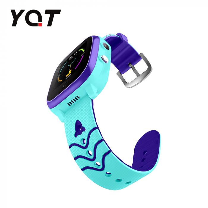 Ceas Smartwatch Pentru Copii YQT T5 cu Functie Telefon, Apel video, Localizare GPS, Istoric traseu, Apel de Monitorizare, Camera, Lanterna, Android, 4G, Albastru, Cartela SIM Cadou [3]