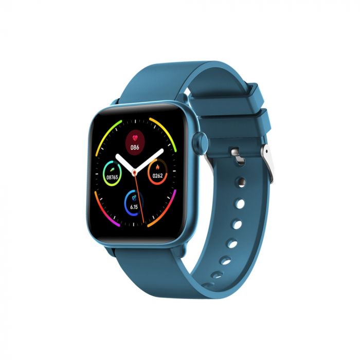 Ceas Smartwatch Twinkler TKY H30 KW37, Verde inchis, Memento sedentar, Termometru, Monitorizarea somnului [0]