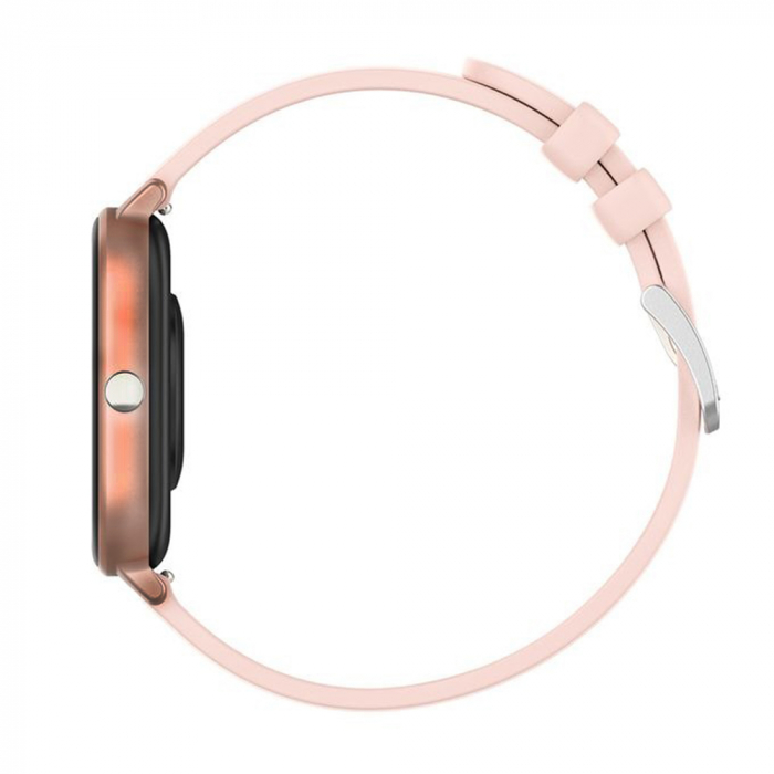 Ceas Smartwatch Twinkler TKY-P8, Auriu, Masurare ritm cardiac, Pedometru, Moduri sportive, Memento sedentar [3]