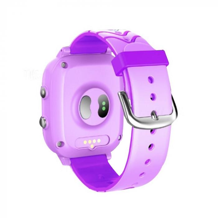 Ceas smartwatch YQT T5S, 4G, Mov, Masurarea temperaturii, Pedometru, Verificare istoric, Alarma, Lanterna [2]