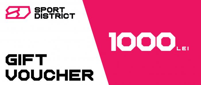 Voucher cadou 1000 lei Sportdistrict [0]