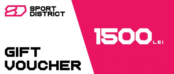 Voucher cadou 1500 lei Sportdistrict [0]