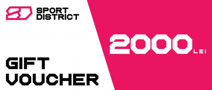 Voucher cadou 2000 lei Sportdistrict [0]