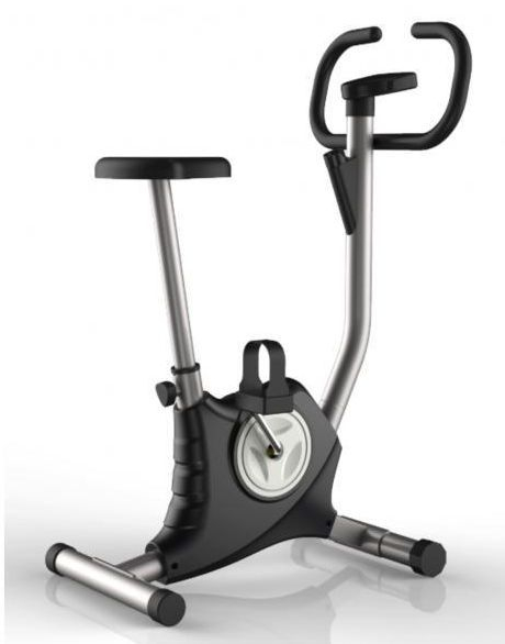 Bicicleta fitness mecanica FitTronic 110B Black [0]