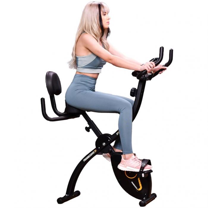 Bicicleta magnetica fitness pliabila Progressive XF100 [1]