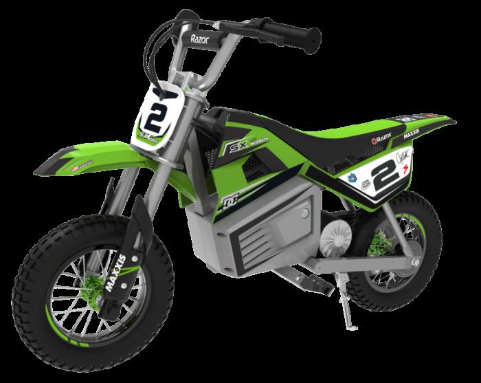 Motocicleta electrica Razor pentru copii 13+ ani Razor SX350 Dirt Rocket McGrath Verde [0]