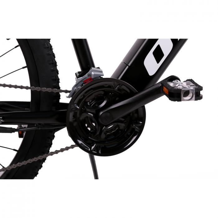"Bicicleta electrica Omega Kerwin 29"" negru/portocaliu/alb [4]"