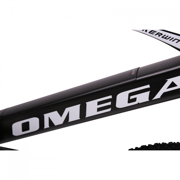 "Bicicleta electrica Omega Kerwin 29"" negru/portocaliu/alb [6]"