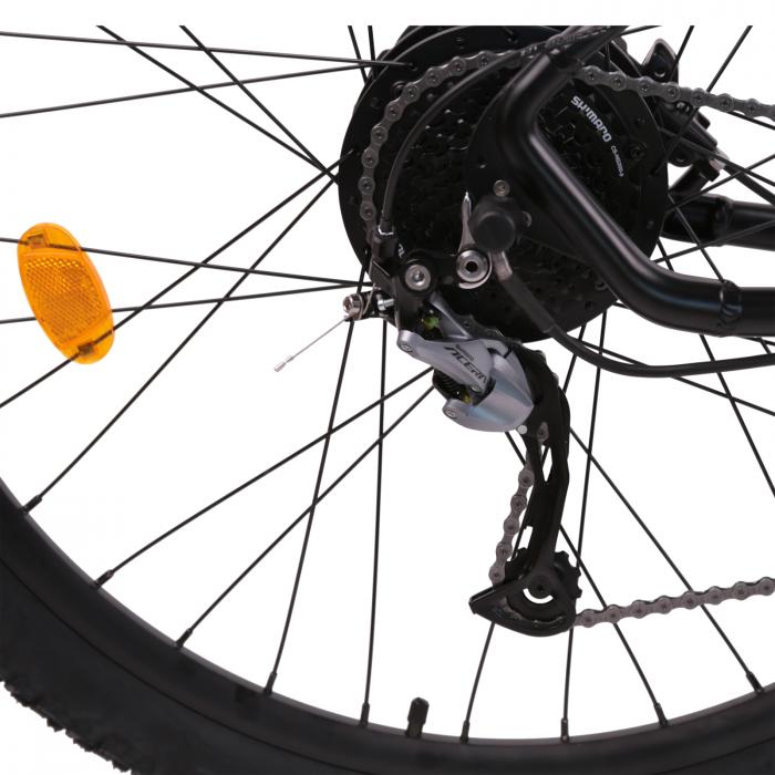 "Bicicleta electrica Omega Kerwin 29"" negru/portocaliu/alb [8]"