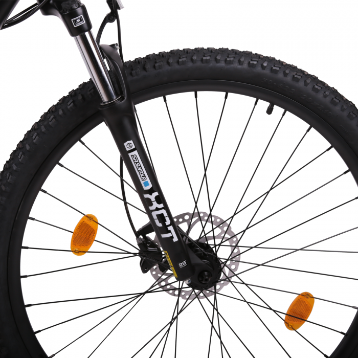 "Bicicleta electrica Omega Liohult 29"" negru/portocaliu/ alb [6]"