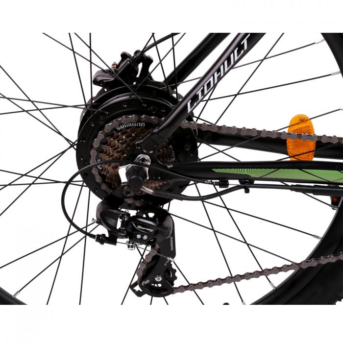 "Bicicleta electrica Omega Liohult 29"" negru/portocaliu/ alb [5]"