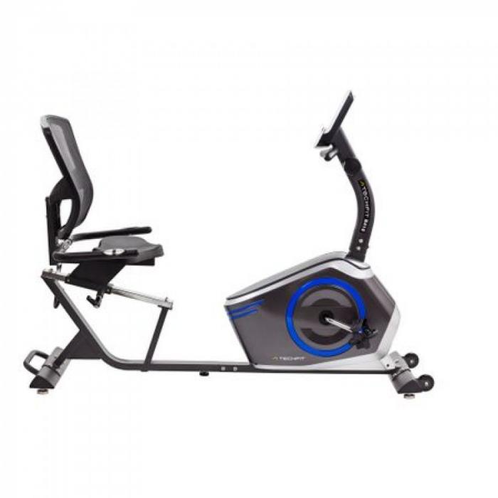 Bicicleta fitness orizontala cu spatar Techfit R410 [0]