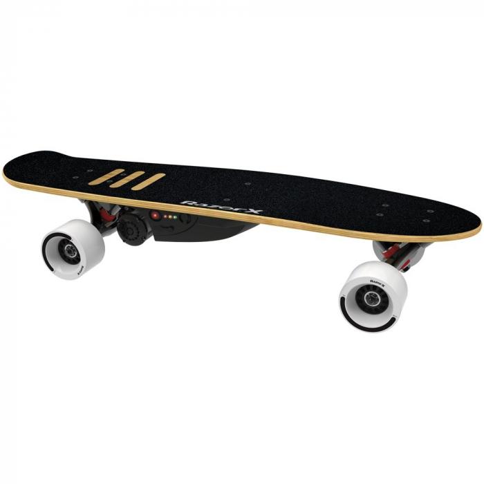 Skateboard electric Razor 125W RazorX Cruiser Negru [0]