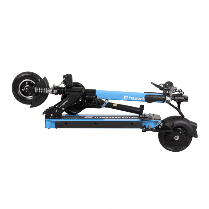 Trotineta electrica inSPORTline Skootie Pro 8'' albastra [2]