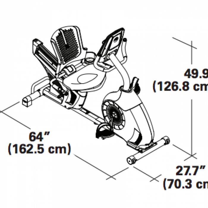 Bicicleta fitness orizontala SCHWINN 570R [6]