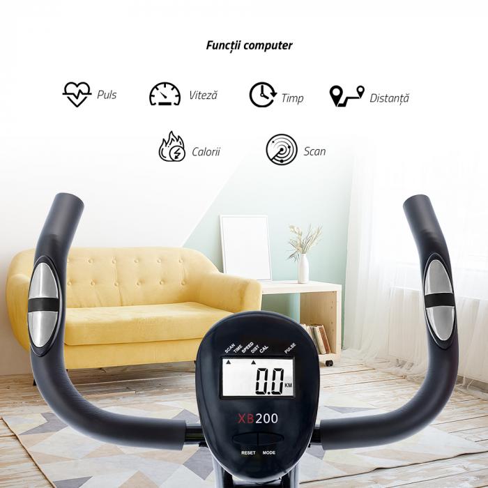 Bicicleta magnetica fitness verticala Techfit XBIKE [1]
