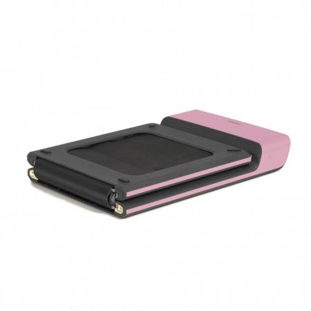 Banda de alergare electrica Toorx walking pad roz [1]