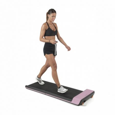 Banda de alergare electrica Toorx walking pad roz [0]
