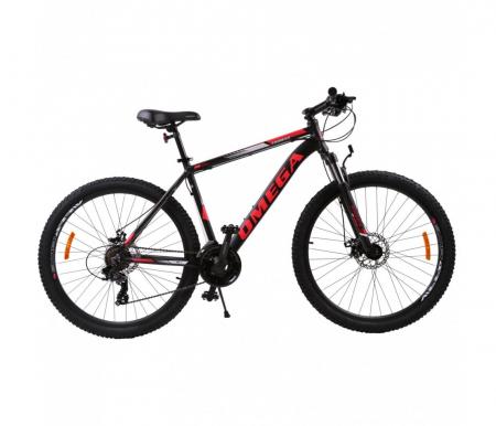 "Bicicleta mountainbike Omega Thomas 29"" negru/rosu [1]"