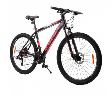 "Bicicleta mountainbike Omega Thomas 29"" negru/rosu [0]"